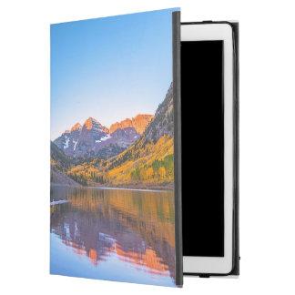 Maroon Bells Alpen Glow iPad Pro Case