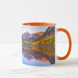Maroon Bells Alpen Glow Mug