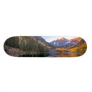 Maroon Bells Alpen Glow Skateboards