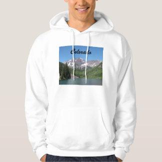 Maroon Bells Colorado Hooded Sweatshirt Hoody