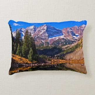 Maroon Bells Decorative Pillow