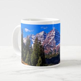 Maroon Bells Giant Coffee Mug