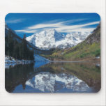Maroon Bells in White River National Forest in Mouse Pad