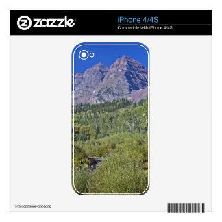 Maroon Bells iPhone 4 Skins