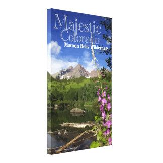 Maroon Bells - Majestic Colorado Stretched Canvas Prints