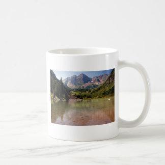 Maroon Bells Classic White Coffee Mug