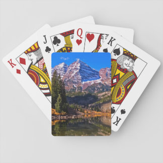 Maroon Bells Playing Cards