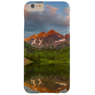 Maroon Bells Reflect Into Calm Maroon Lake 2 Barely There iPhone 6 Plus Case