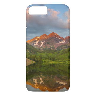 Maroon Bells Reflect Into Calm Maroon Lake 2 iPhone 7 Plus Case