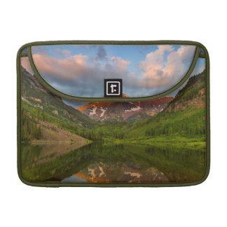 Maroon Bells Reflect Into Calm Maroon Lake 2 Sleeve For MacBooks