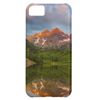 Maroon Bells Reflect Into Calm Maroon Lake 3 iPhone 5C Cover