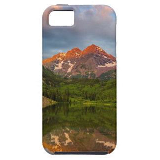 Maroon Bells Reflect Into Calm Maroon Lake 3 iPhone SE/5/5s Case