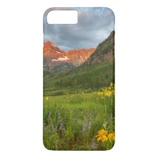 Maroon Bells Reflect Into Calm Maroon Lake iPhone 7 Plus Case