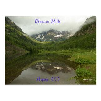 Maroon Bells reflection Postcards