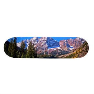 Maroon Bells Skateboard Deck