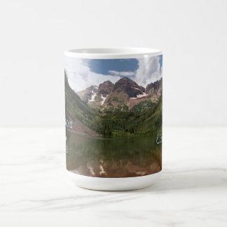 Maroon Bells Template Mug