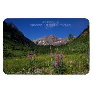 Maroon Bells Wilderness ~ Aspen, Colorado Rectangular Photo Magnet