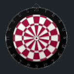 "Maroon Black And White Dart Board<br><div class=""desc"">Maroon Black And White Dart Board</div>"
