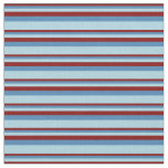 [ Thumbnail: Maroon, Blue, and Light Blue Colored Pattern Fabric ]