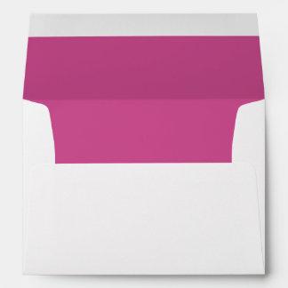 Maroon Bright Invitation Envelope