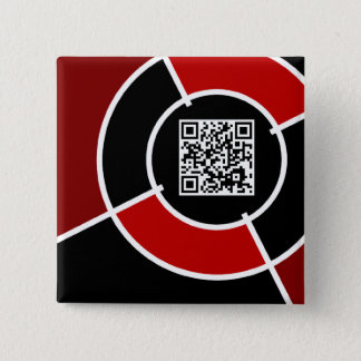 maroon bullseye QR code Button