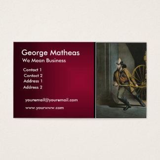 Maroon Business Card