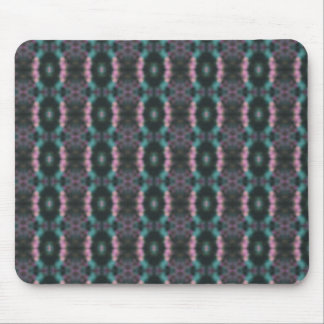 Maroon Chain Design Mouse Pad