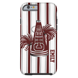 Maroon Cheerleader Custom iPhone 6 Case