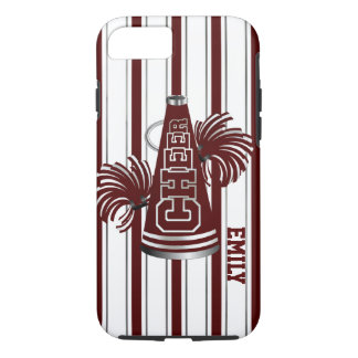 Maroon Cheerleader Custom iPhone 7 Case