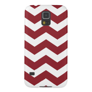 Maroon Chevron Pattern Samsung S5 Case Galaxy S5 Covers