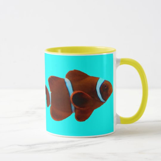 Maroon Clownfish Mug