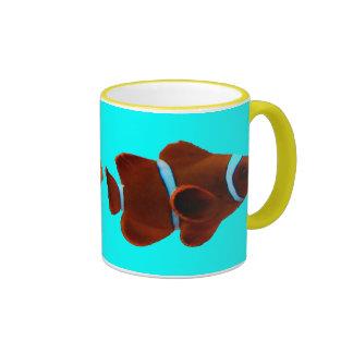 Maroon Clownfish Coffee Mug