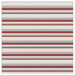 [ Thumbnail: Maroon, Dark Gray & Beige Stripes/Lines Pattern Fabric ]