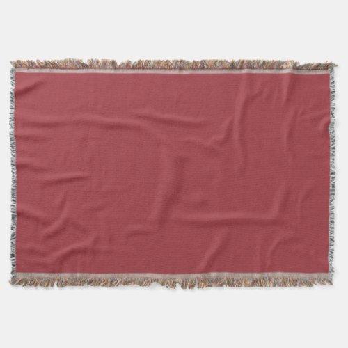 Maroon East Throw Blanket