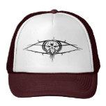 Maroon EYE LOGO Hats