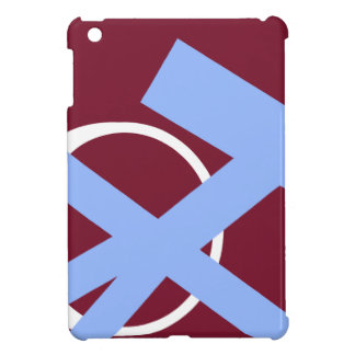Maroon Freedom Blue and White Portal right iPad Mini Case
