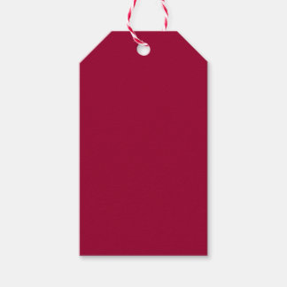 Maroon Pack Of Gift Tags