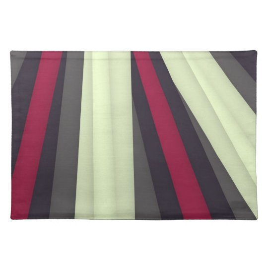 Maroon Grey White Mat