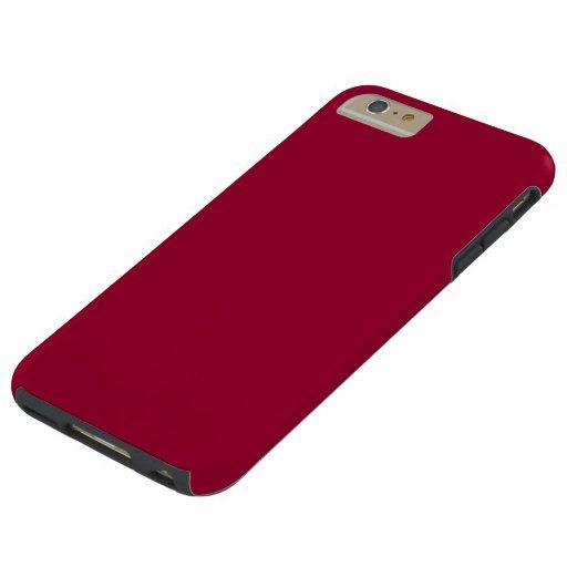 Case Design cute phone case designs : Maroon iPhone 6/6S Plus Case