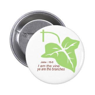 Maroon John 15-5 Vine Green Pins