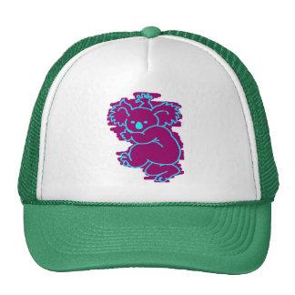 maroon  koala trucker hat