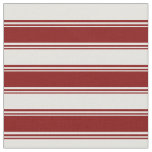 [ Thumbnail: Maroon & Light Cyan Colored Lines/Stripes Pattern Fabric ]