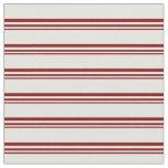 [ Thumbnail: Maroon & Light Cyan Stripes/Lines Pattern Fabric ]