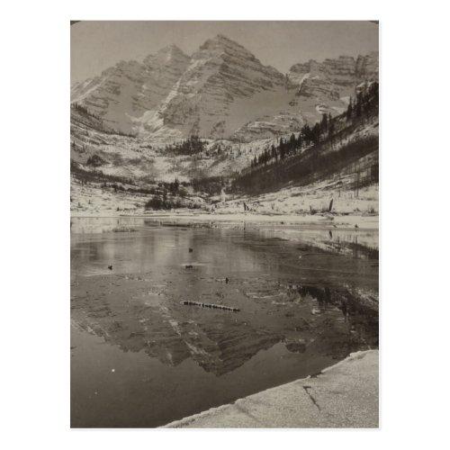 Maroon Peaks Near Aspen Postcard