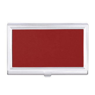 Maroon Business Card Case
