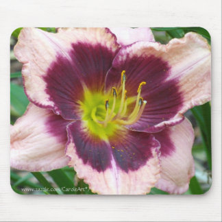 Maroon Pink Lily Mousepad