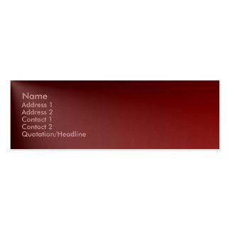 Maroon Profile Card
