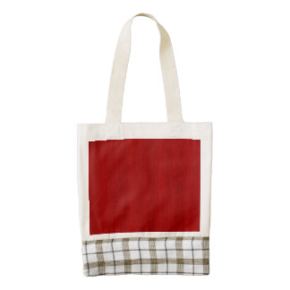 Maroon Red Bamboo Wood Grain Look Zazzle HEART Tote Bag