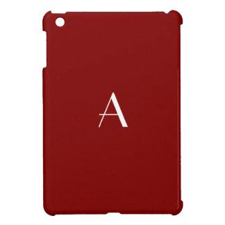 Maroon Red iPad Mini Case