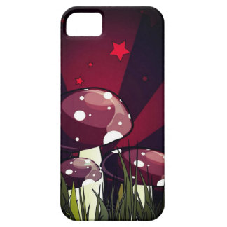 'Maroon Shrooms' iPhone 5 Cases